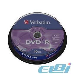DVD+R, DVD+RW диски в упаковке Cake box и Bulk