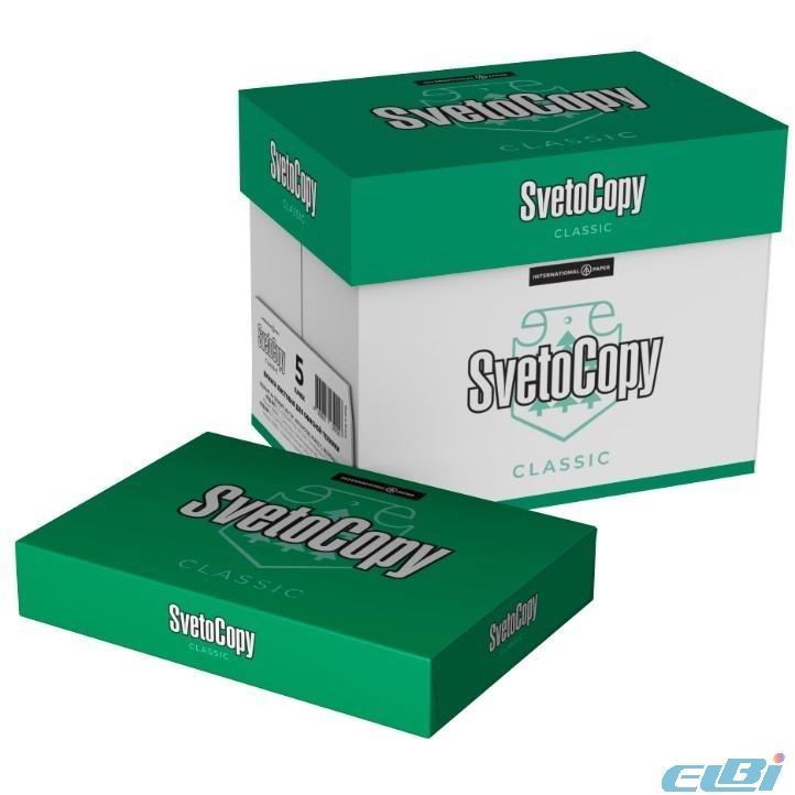 Бумага белая офисная SVETOCOPY (отпускается коробками по 5 пачек в коробке)