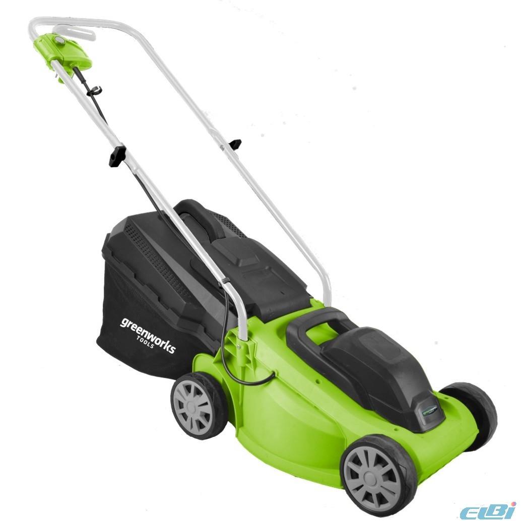 GreenWorks Газонокосилки