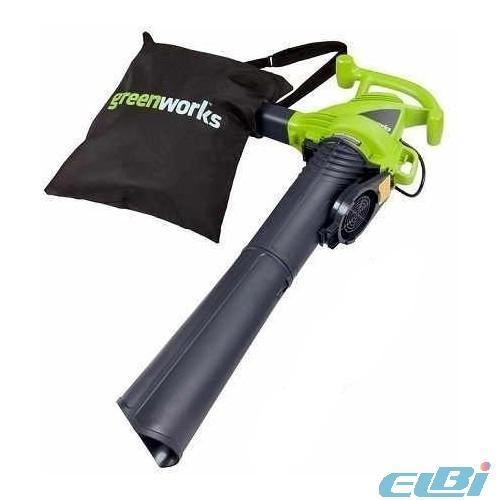 GreenWorks Воздуходувки, Садовые пылесосы
